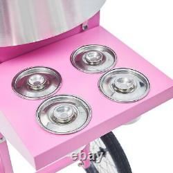 Pink Sugar Floss Maker Party Carnival Commercial Electric Cotton Candy Machine