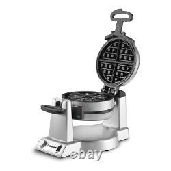 Pro Double Belgian Waffle Maker Iron Gourmet Baker Breakfast Commercial