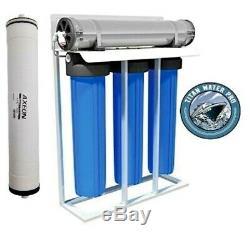 RO Reverse Osmosis Water Filter System 1000 GPD Filter Housings 20 x 4.5