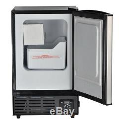 SMAD Commercial Ice Maker Freezer Stainless Steel Ice Machine Electric Automatic