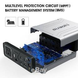 SUAOKI G100 27000mAh Solar Power Generator Battery Charger Station Inverter 100W