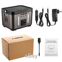 Sailnovo Power Station 250W(222Wh) Rechargeable Solar Generator Lithium Battery@