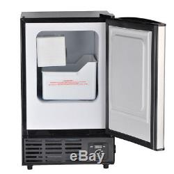 Smad Built-In Commercial Ice Maker Undercounter Freestanding Ice Cube Machine