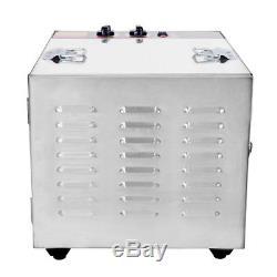 Stainless Steel Commercial Dehydrator Food Fruit Meat Jerky Dryer 10 Tray Blower