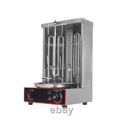 Stainless Steel Commercial Electric Shawarma Gyros Grill Machine 6prm 50-300