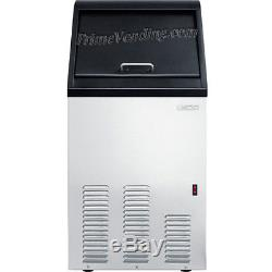 Stainless Steel Commercial Ice Maker, Built-In / Portable Restaurant Ice Machine