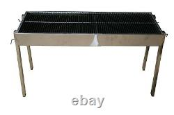 Stainless Steel Extendable Commercial Catering Charcoal Bbq