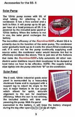 Survival Still Non-Electric Emergency Water Purification System vs SurvivorStill
