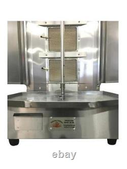Tacos Al Pastor Commercial Machine By Spinning Grillers SG3 4 Burners NG