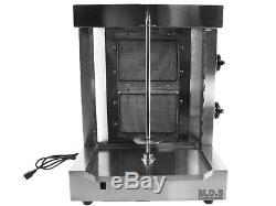 Tacos Al Pastor Machine Heavy Duty Commercial Stainless Steel Trompo Kebab Stick