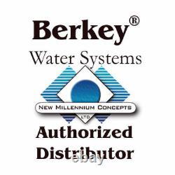 Travel Berkey Water Purifier With2 Black BB-9 Filters AUTHORIZED DEALER & WARRANTY