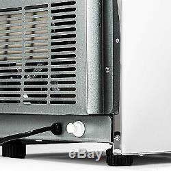 US 132LB Built-In Commercial Ice Maker Undercounter Freestand Ice Cube Machine