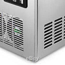 US 150LB Built-In Commercial Ice Maker Undercounter Freestand Ice Cube Machine
