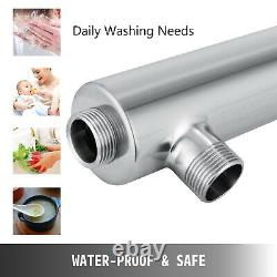 Ultraviolet Light Water Purifier 55W Whole House Water Sterilizer Filter 12 GPM