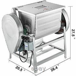 VEVOR 15KG 30QT Commercial 110V Electric Dough Mixer Mixing Machine 1.5KW