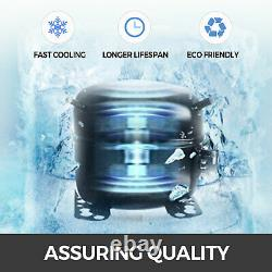 VEVOR 44LBS/24H Snowflake Ice Maker Machine Stainless Steel Commercial Ice Maker
