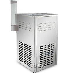 VEVOR 4.76Gal/H Commercial Soft Serve Ice Cream Maker Machine Stainless Steel