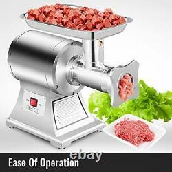 VEVOR Commercial 1.5HP Meat Grinder Electric Meat Mincer Sausage Stainless Steel