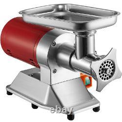 VEVOR Commercial 550lbs/h Electric Meat Grinder 1.1HP Sausage Stuffer Maker