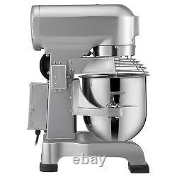 VEVOR Commercial Electric Food Mixer 15Qt Stand Machine Dough Mixer 3 Speed 600W