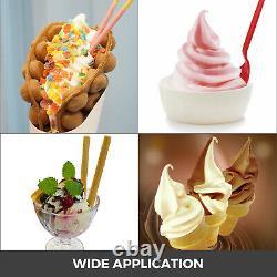 VEVOR Commercial Soft Serve Ice Cream Maker 3 Flavors Ice Cream Machine 20-28L/H