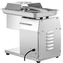 VEVOR Electric Commercial Meat Slicer 250KG/h Meat Cutting Machine 3mm Blade