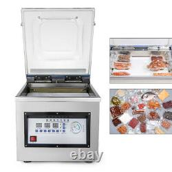 Vacuum Packaging Machine Commercial SS Kitchen Food Chamber Vacuum Sealer 110V