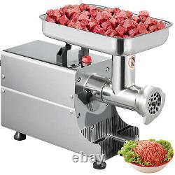 Vevor Commercial Meat Grinder Stainless Steel Electric Sausage Stuffer 176LBS/H