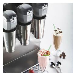Waring Triple Spindle Drink Mixer Commercial Malt Milkshake Mixing 2 Speed
