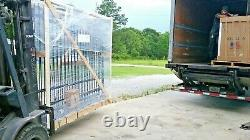 Wrought Iron Style Steel / Iron Driveway Gates Home Commercial Yard Security