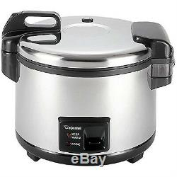 Zojirushi NYC-36 20-Cup Uncooked Commercial Rice Cooker Warmer Stainless Steel